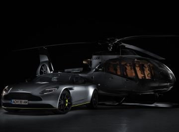 Helicóptero Aston Martin