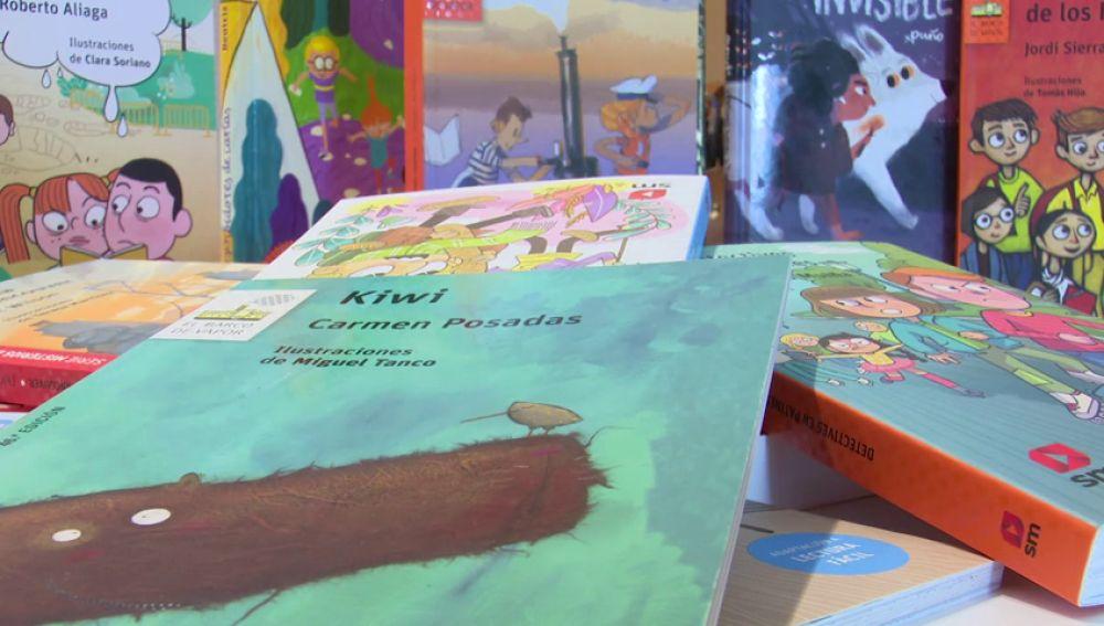 Libros de la colección 'El Barco de Vapor'