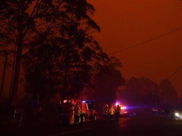 Imagen de los incendios en Australia