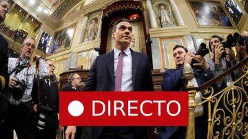 Investidura de Pedro Sánchez: Debate, discurso y votación, laSexta en directo