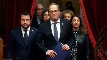 El presidente de la Generalitat de Catdaluña, Quim Torra