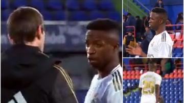 Vinicius, con el preparado físico del Real Madrid