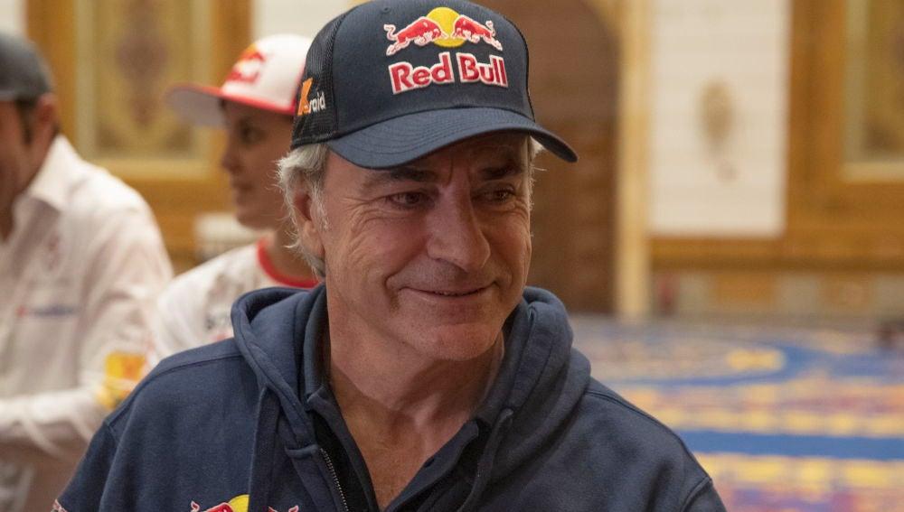 Carlos Sainz, durante el Dakar 2020