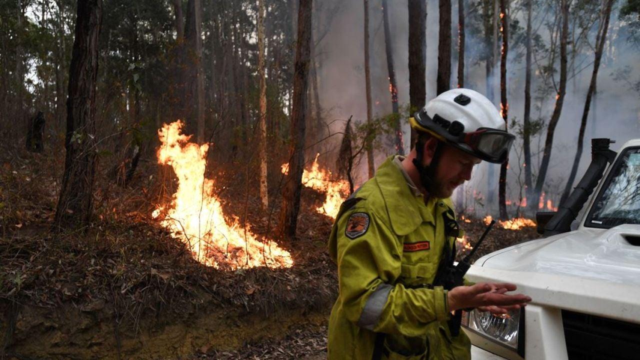 Imagen de archivo de los incendios en Australia