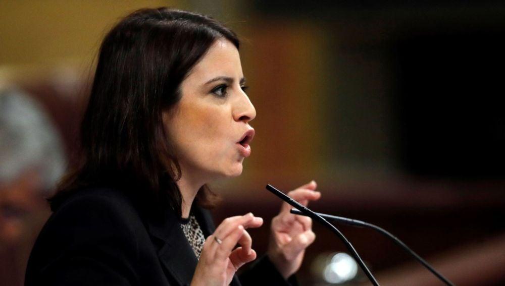 Adriana Lastra en el Congreso