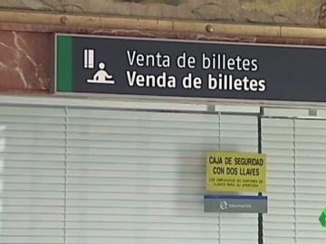 Teruel Existe evita el cierre las taquillas de Renfe en estaciones con poca afluencia como condición para apoyar la investidura de Sánchez