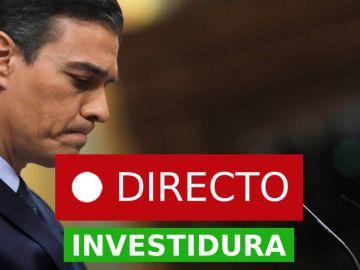 Investidura de Pedro Sánchez |  Resultado: Primera votación sin mayoría absoluta, laSexta en directo