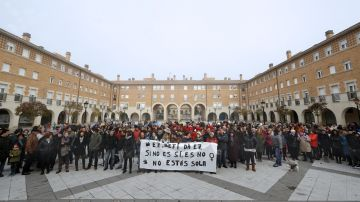 La localidad de Orkoien (Navarra) rechaza agresión sexual contra una vecina