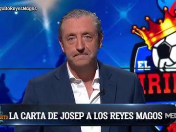"""La sentida carta de Josep Pedrerol a los Reyes Magos en 'El Chiringuito': """"Hemos sido buenos"""""""