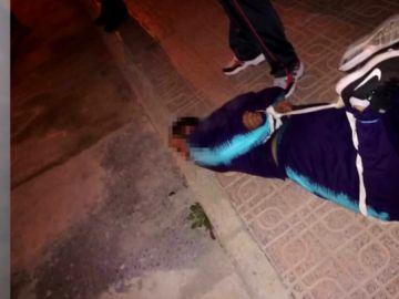 Uno de los ladrones retenidos en Alicún de Ortega, Granada