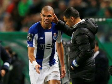 Pepe, con el Oporto