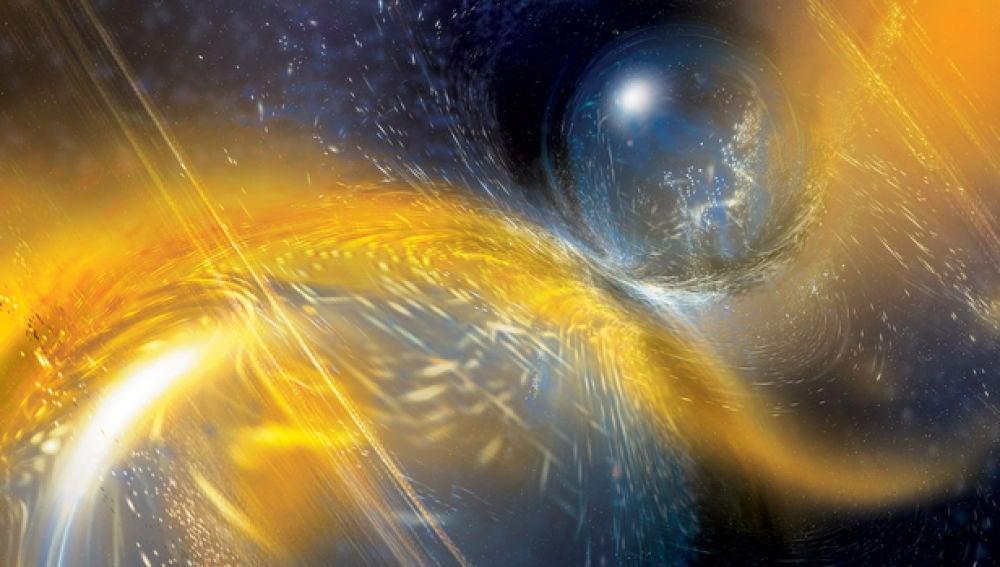 Segunda deteccion de ondas gravitacionales por la fusion de estrellas de neutrones