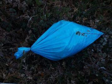 Saco con restos de animales descuartizados hallado en Allariz (Ourense)