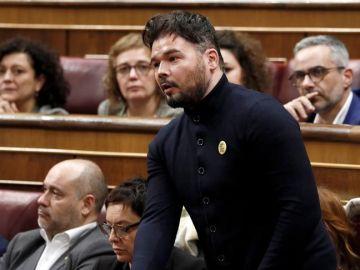 El diputado de ERC, Gabriel Rufián
