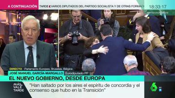 """García-Margallo, tras la investidura: """"El objetivo de Sánchez es crear una España federal vertebrada por el PSOE"""""""