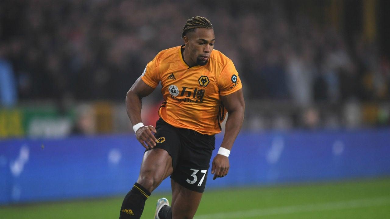 Adama Traoré, con el Wolves