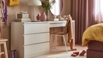 Imagen del mueble modelo 'Malm', comercializado por Ikea.