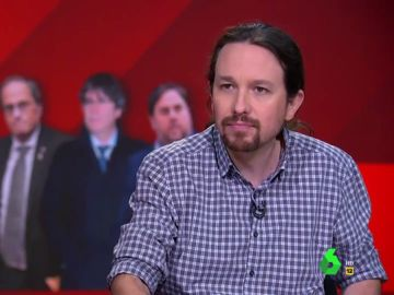 """Pablo Iglesias explica por qué cree que sí hay """"presos políticos"""" en España"""