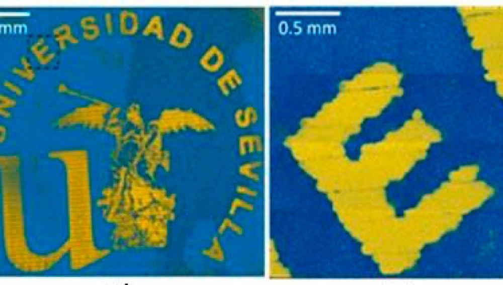 Impresion 3D de nanoparticulas de oro estabilizadas con polimeros azucarados