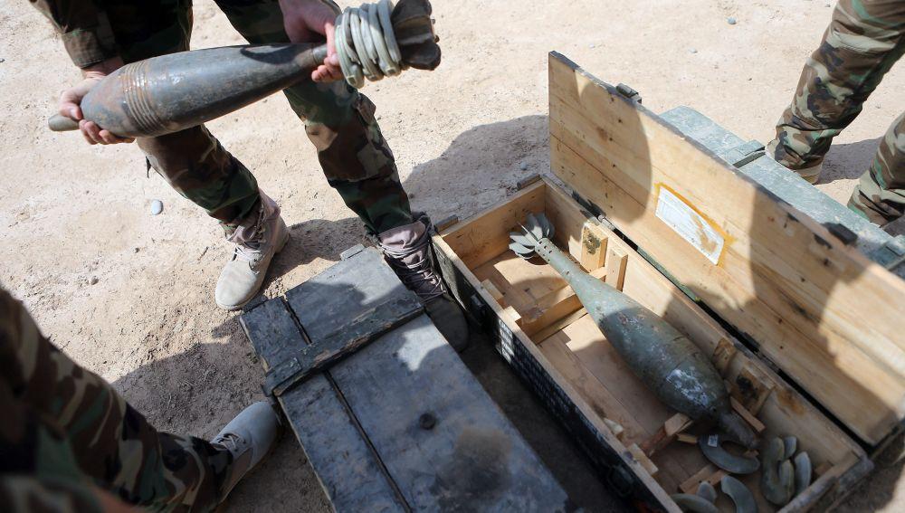 Varios misiles impactaron en la base militar de Ain al Asad