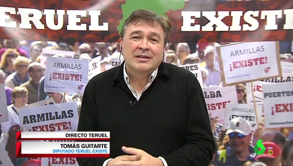 """Tomás Guitarte, tras la campaña de boicot a Teruel: """"La simpatía hacia Teruel ha sido más potente"""""""