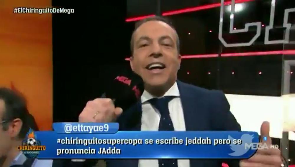 """Cristóbal Soria nos deja un adelanto de su nueva canción en 'El Chiringuito': """"A Hazard le gusta..."""""""