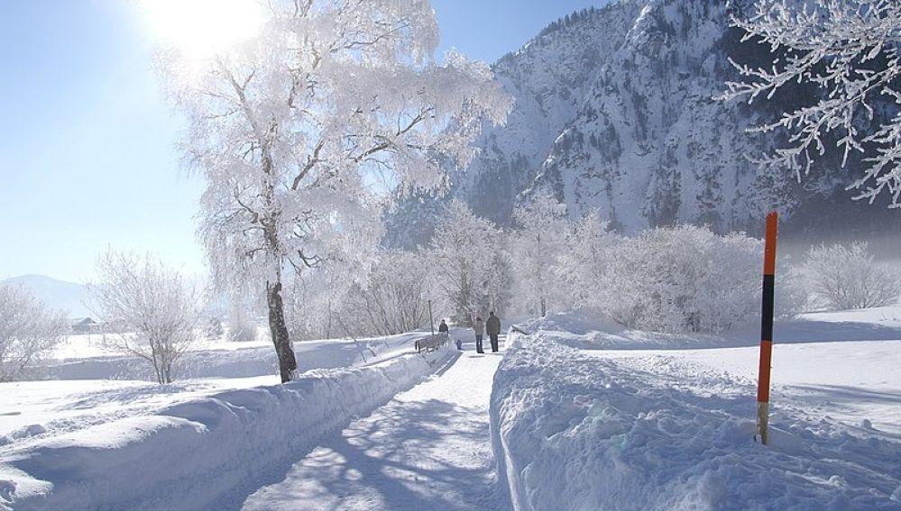Achensee en invierno