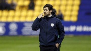 Víctor Sánchez del Amo, en un partido