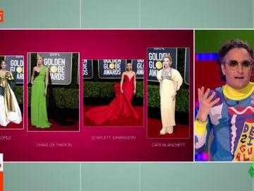 El ranking de Josie sobre los mejores vestidos de los Globos de Oro 2020