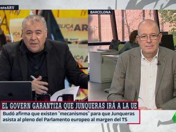 """José Zaragoza (PSC): """"No comparto lo que defiende ERC, pero la ciudadanía nos ha encargado llegar a un acuerdo"""""""