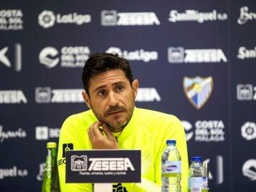 Víctor Sánchez del Amo, exentrenador del Málaga CF