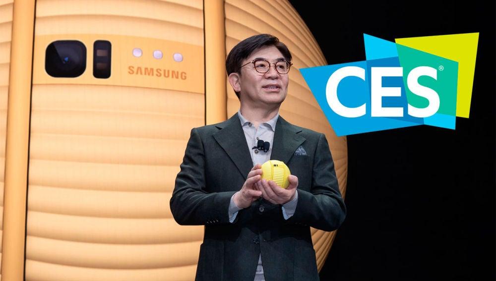 Presentación de Samsung en el CES