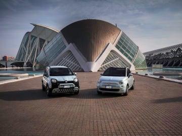 FIAT 500 y FIAT Panda Hybrid
