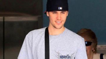 Justin Bieber en una imagen de archivo