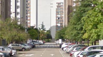 La calle Puerto de Carrero, en Gijón, en la que ocurrieron los hechos
