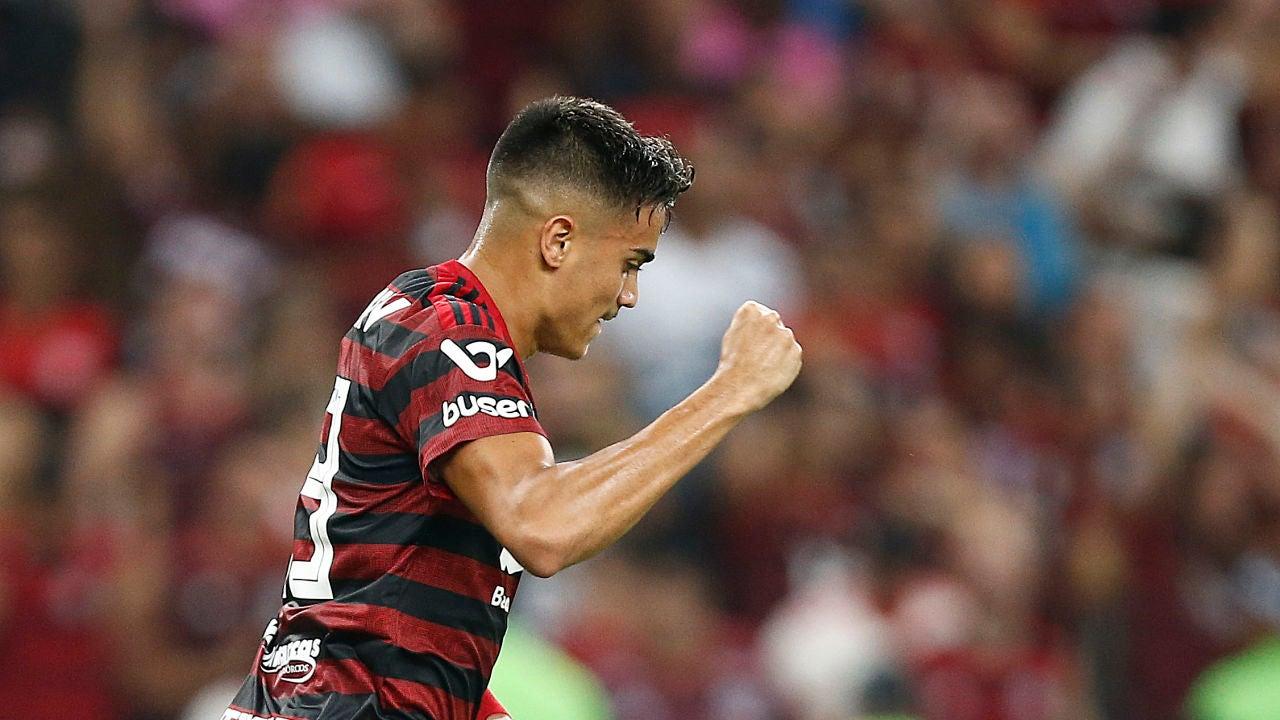 Reinier Jesus, en un partido del Flamengo.