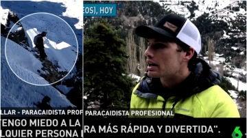 Álex Villar, el 'hombre pájaro' español