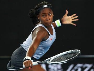 Coco Gauff, en el Australia Open.