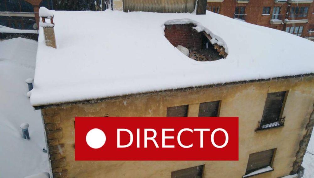 Temporal Gloria en directo | Lluvia y nieve en Cataluña, Valencia, Alicante, Teruel y resto de España