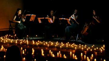 Música clásica a la luz de las velas en el espectáculo 'Candlelight'