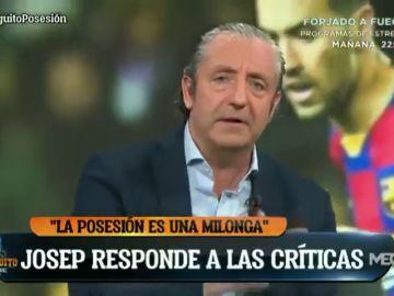 """Josep Pedrerol responde a las críticas: """"El Barça dio 800 pases 'milongueros'"""""""
