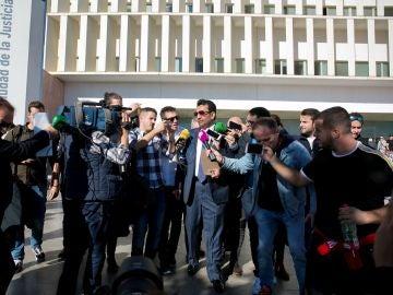El presidente del Málaga CF, el jeque Abdullah Al-Thani