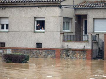 Se desbordan los ríos Ter y Fluvià en Girona y el Tordera en Barcelona