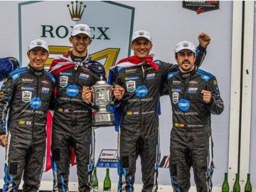 Fernando Aonso gana las 24 Horas de Daytona 2019