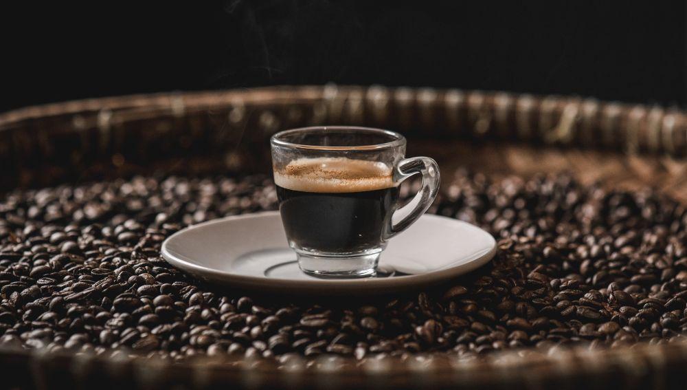 Marchando un cafe expreso con matematicas