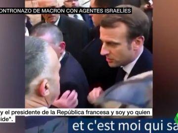 Emmanuel Macron en Jerusalén