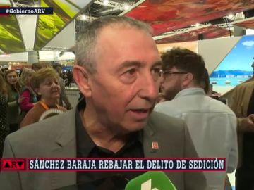 """Joan Baldoví: """"Yo de los tribunales españoles me iría un ratito al rincón de pensar"""""""