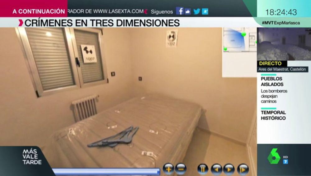 Crímenes en 3D: la técnica de la Policía para reproducir el escenario de un hecho delictivo