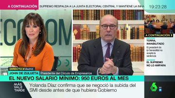 """El Círculo de Empresarios advierte: """"Un 24% de los afectados por la subida del SMI va a entrar en la economía sumergida"""""""