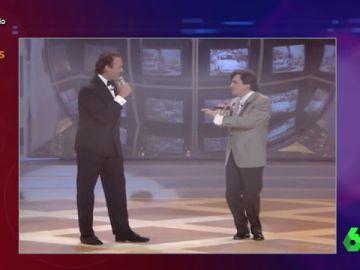 Wyoming y Bertin Osborne, un dúo de éxito en los 90